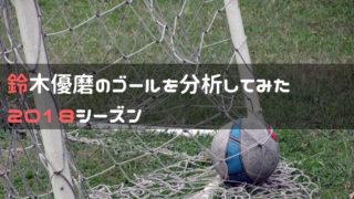 鈴木優磨の2018シーズン全ゴールを分析してみた