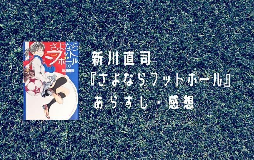 新川直司『さよならフットボール』あらすじ・感想